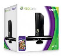 Упаковка Xbox 360 Slim (4Gb) + Kinect (Ростест)