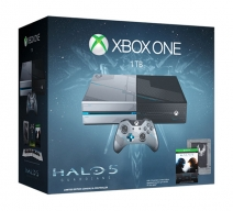 Xbox One 1Tb лимитированный с игрой «Halo 5. Guardians. Limited Edition»