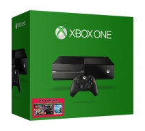 Xbox One 500Gb черный с игрой «The LEGO Movie Videogame» + «The Crew» + «Project SPARK»