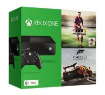 Xbox One. Day One Edition (500Gb) + игра FIFA 15 + игра Forza Motorsport 5