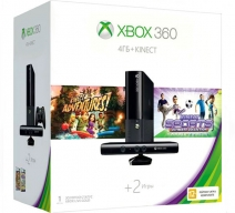 Xbox 360 500Gb черный + Kinect + «Kinect Sports. Ultimate Collection»