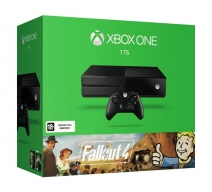 Xbox One 1Tb черный с игрой «Fallout 4»