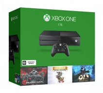 Xbox One 1Tb черный с игрой «Gears of War. Ultimate Edition» + «Rare Replay» + «Ori»