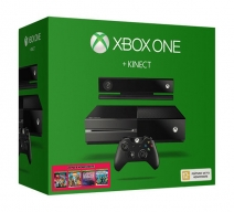 Xbox One 500Gb черный + Kinect 2.0 + «Zoo Tycoon», «Dance Central Spotlight», «Kinect Sports Rivals», «The LEGO Movie Videogame»