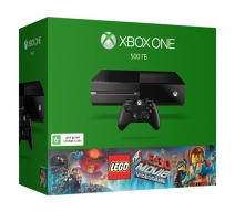 Xbox One 500Gb черный с игрой «The LEGO Movie Videogame»