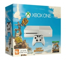 Xbox One 500GB белый с игрой «Sunset Overdrive»