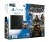 Playstation 4 1Tb черная с игрой «Assassins creed. Синдикат» + «Watch_Dogs»