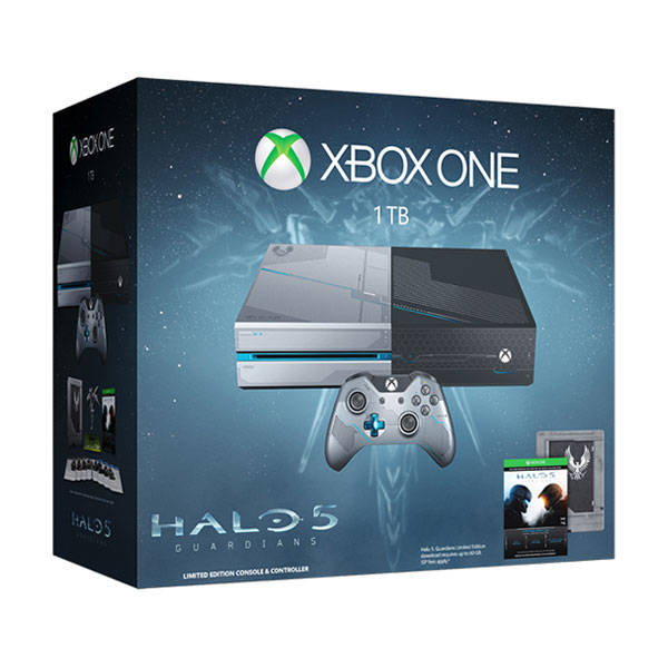 Xbox One 1Tb �������������� � ����� �Halo 5. Guardians. Limited Edition�